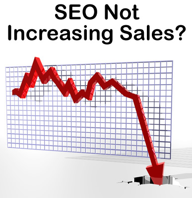 Search Engine Optimization not increasing sales