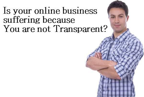 Lead generation not transparent
