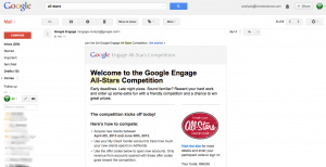 Funnel Science Invitation to Google Engage All-Stars 2013