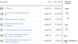 Optimizing Google Ads Campaigns $5000 Budgets